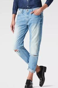 G-Star-Raw-Type-C-3d-Low-Waist-Jeans-It-Aged-Damen-Groesse-UK-w27-l32-ref36-15