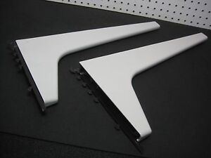 """PAIR 19"""" L Bracket for Haworth / Herman Miller Cantilever Pair Support 1820-3216"""