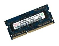 2GB DDR3 HYNIX 1333 Mhz Netbook RAM HMT325S6BFR8C-H9 PC3-10600S SO-DIMM 204 pin