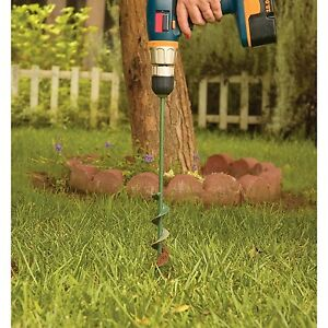 garden auger drill bit. Image Is Loading Garden-Auger-Drill-Bit-1-75-034-Diameter- Garden Auger Drill Bit G