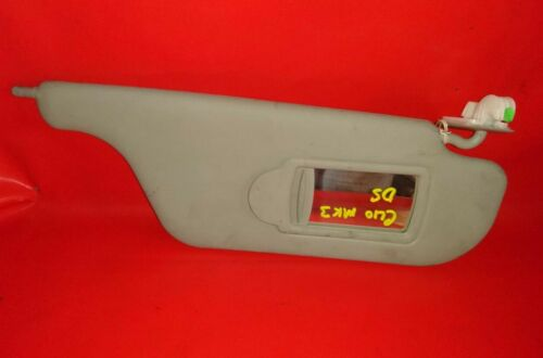 2006 RENAULT CLIO MK3 1.2 PETROL DRIVER SIDE SUNVISOR WITH VANITY MIRROR