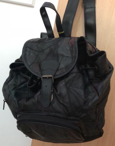 de voyage sac sac voyage noir de de à sac OVP voyage véritable cuir sac neuf cuir dos 100 en tout FpgZq1xx