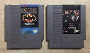 NES-Batman-amp-Batman-Returns-Cartridges-Cleaned-Tested-Cleaned-Konami-Sunsoft