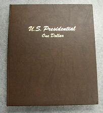 Dansco Coin Album 7184 Presidential Dollar P&D Mints 2007-2016
