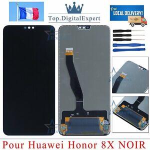 Vitre-Tactile-Ecran-LCD-Pour-Huawei-Honor-8X-Couleur-Noir-Outils-Assembly