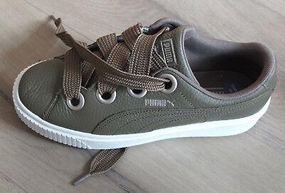 Puma Coole Leder Sneaker Schuhe Gr. 40 Neu Seien Sie Freundlich Im Gebrauch