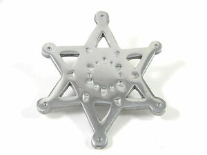 Large-Silver-tone-Star-Brooch-Vintage-Pin