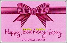 VICTORIA'S SECRET 2013 US HAPPY BIRTHDAY SEXY RARE ENGLISH COLLECTIBLE GIFT CARD