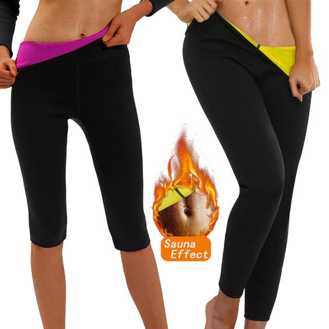 Size L Hot Shapers Women/'s Thermal High-Waist Capri Black