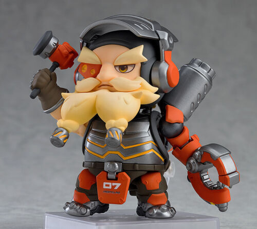Nendoroid #1017 Torbjorn Classic Skin Edition Overwatch USA Seller Authentic