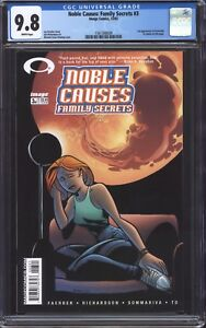 NOBLE-CAUSES-FAMILY-SECRETS-3-CGC-9-8-1st-cameo-app-of-Kirkman-039-s-Invincible
