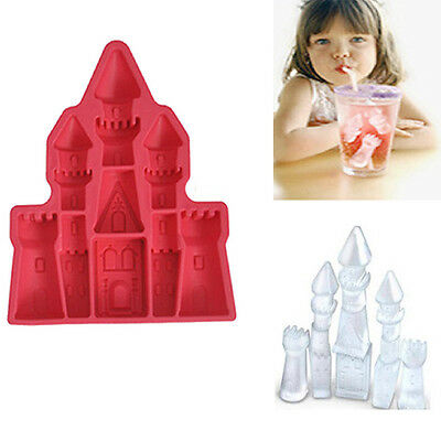 Palace Princess Castle Ice Chocolate Silicone Tray Candy Mold Pudding Party