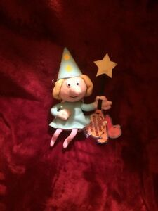 """Stuffin CVS FRACTURED FAIRY 9"""" plushes w tags bv Rocky & Bullwinkle"""