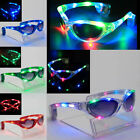Sparkle LED Colorful Glow Party Club Flashing Sunglasses Glasses Rave Light Fun