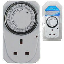 7 Day Digital Timer Programmable Switch Plug Segment Setting Adaptor Eurosonic