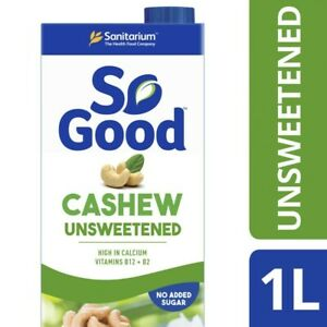 Sanitarium So Good Long Life Unsweetened Cashew Milk 1L