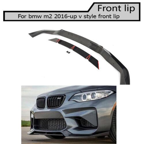 f 87 Carbon fiber front lip Splitter for BMW M2 206-2018