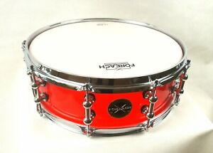 Seamless-Ruby-Red-Acrylic-Acoustic-Snare-Drum-14-034-x4-5-034