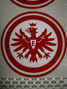 Details Zu 5 Kfz Autoaufkleber Sg Eintracht Frankfurt Sticker Aufkleber Neu 5 Stück