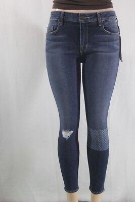 $ Neu Parker Smith Jeans Ava Ausschnitt Path Enge Damen Größe 4/27
