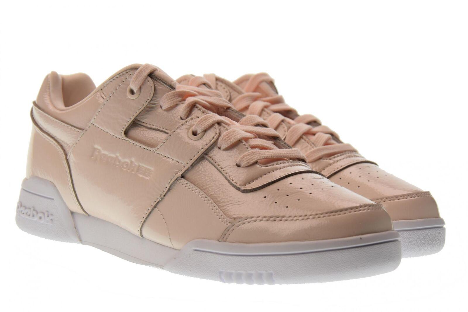 Reebok Frauen niedrige Turnschuhe Schuhe CM8951 W / O-PLUS irisierenden P18g