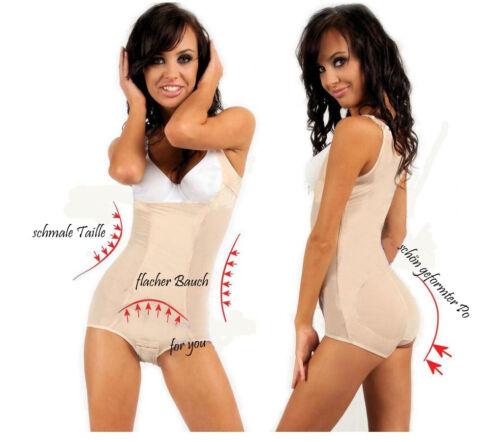 Damen Komfort Miederbody Shapewear Bodysuit OriRose 6914 haut 38 40 42 44