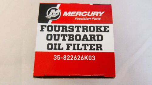 New OEM Mercury Fourstroke Outboard Oil Filter Part Number 35-822626K03