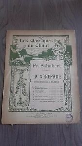 I-Classici-Del-Canto-Fr-schubert-La-Serenade-Spartito-Costallat-Be-2-Persiane