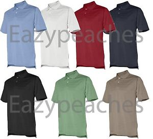 ADIDAS-GOLF-Men-039-s-S-L-XL-XXL-3XL-Climalite-Max-Mesh-Solid-Textured-Polo-Shirts