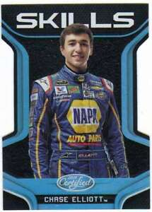 2016-Panini-Certified-NASCAR-Racing-Skills-Mirror-Silver-99-4-Chase-Elliott