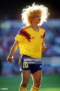 Colombia 1990 Retro Home Shirt Carlos Valderrama 10 Jersey WC Italia 90 XL BNWT