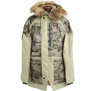 new arrivals 1b2a9 936e9 Details about Burton Alpha Industries N3-B Undefeated Camouflage Parka Mens  L XL Winter Coat