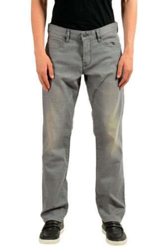 "Hugo Boss /""Orange24/"" Men/'s Gray Stretch Straight Leg Jeans US 33//30 IT 33//30"