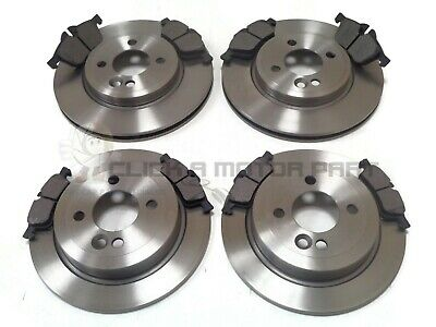 MINI ONE /& COOPER S 1.6 R50 R53 2001-2006 FRONT /& REAR BRAKE DISCS AND PADS NEW