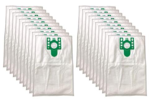 20 x U Type Hyclean Vacuum Cleaner Bags For MIELE Hoover Dust Bag S7210 Filters