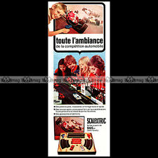 SCALEXTRIC 1973 CIRCUIT SLOT CAR RACING VINTAGE Pub Pubicité Ad Advert #C264
