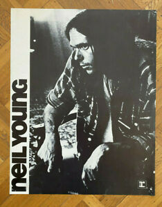 NEIL-YOUNG-Warner-Reprise-1970-PROMO-POSTER-Thick-Card-Stock-RARE