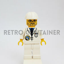 LEGO Minifigures - 1x spp014 - Scientist - Space Port Shuttle Omino Minifig 3067