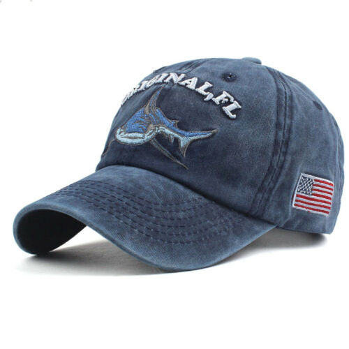 Basecap Berretto interessanti unisex must-have Vintage Baseball YACHTING squalo Martim USA