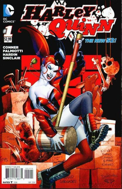 Harley Quinn #1 5th Print Conner Variant DC Comics New 52 Batman Joker