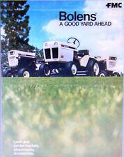 Bolens HT-20 QS QT-16 G-10 H-14 G-8 Lawn Garden Tractor Full Color Sales Catalog