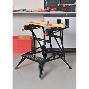 Portable Workbench Saw Horse Project Center Folding Job ...