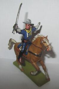 Xiloplast Cavalier Nord Soldat Capitaine Épée Landi Cheval Avec Sella