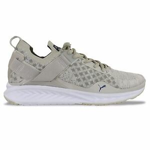 new product 907ac f346a Details about PUMA IGNITE EVOKNIT TRAINERS - IGNITE EVOKNIT LOW PAVEMENT -  OATMEAL - BNIB