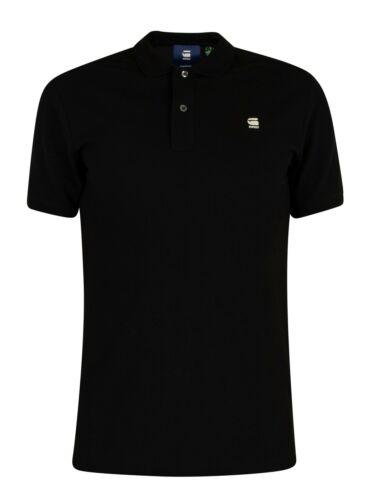 Noir G-Star Homme Dunda Slim Polo Shirt