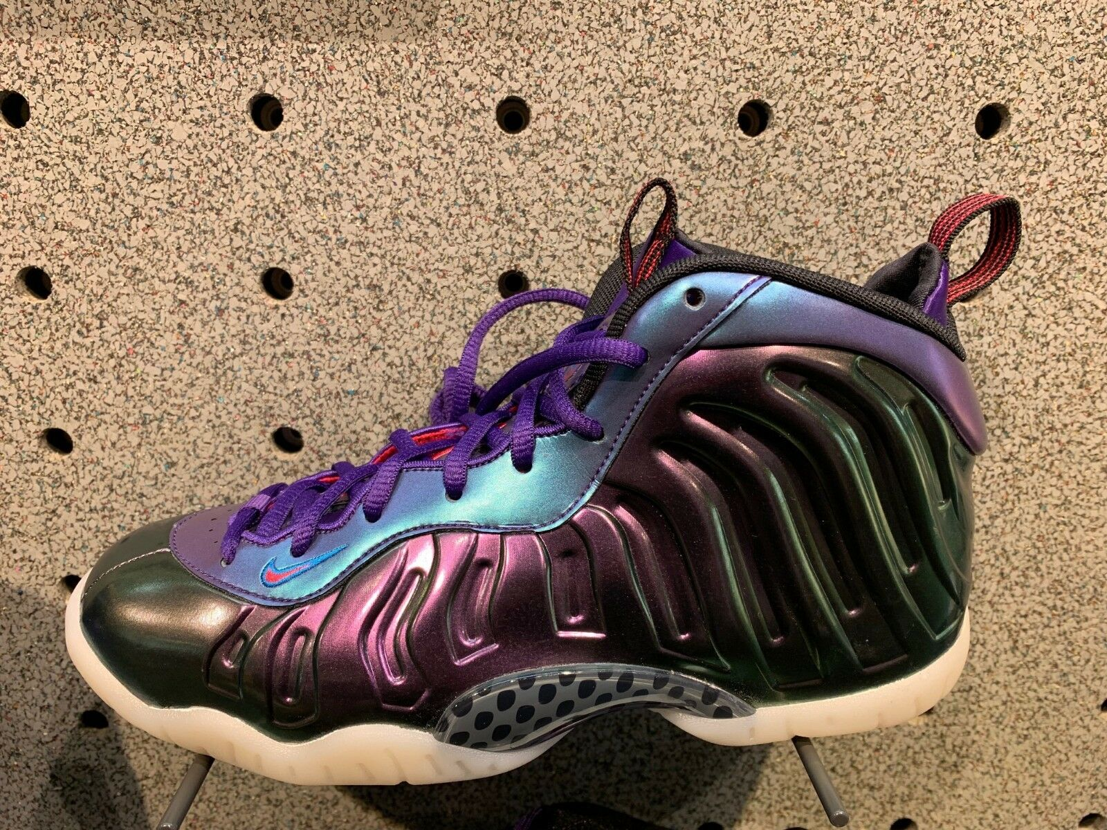 Nike Foamposite Lil Posite One Rush Pink Neptune blueee GS PS TD Infant Size 1C-7Y