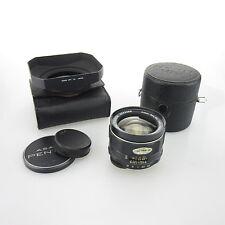 M42 Asahi Super-Takumar 3.5/24 lente/lens + original case, Hood u. Caps