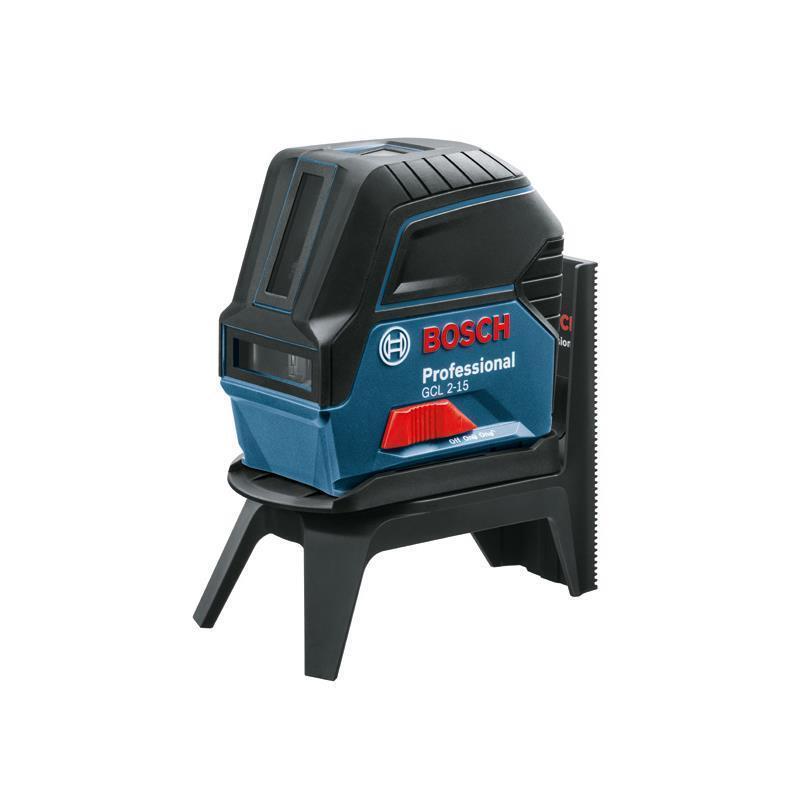 Bosch Kreuz-Linienlaser GCL 2-15 inkl. Tasche, RM 1 Professional und Zieltafel