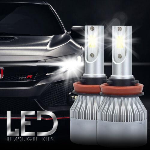 XENTEC LED HID Headlight Conversion kit H11 6000K for 2005-2013 Volvo VNL