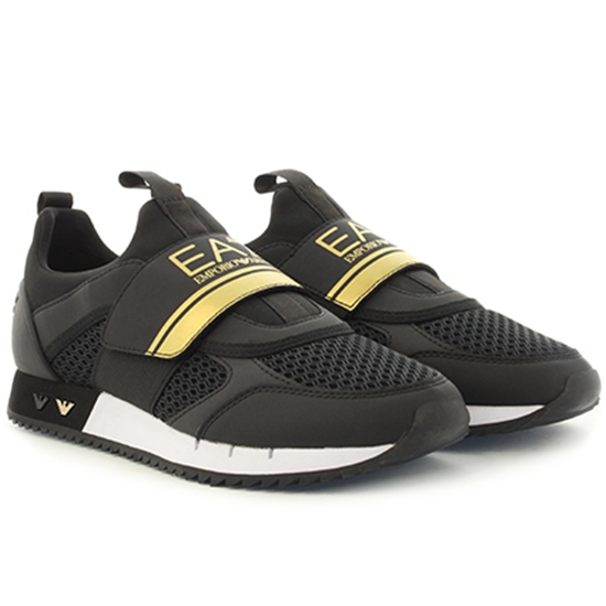 EA7 EMPORIO ARMANI SNEAKERS TRAINING black uk-6